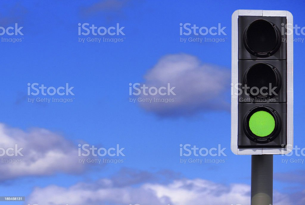 Business Concept: Full Steam Ahead / All Systems Go! stock photo