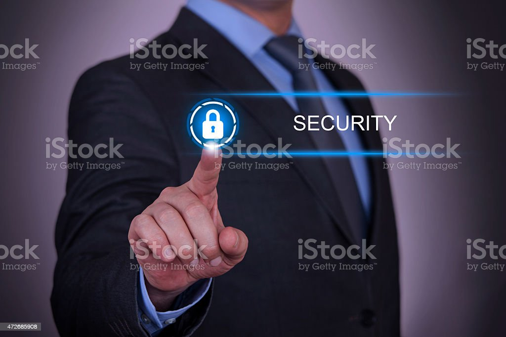 Business Concept Security stock photo