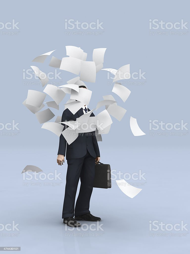 business concept trouble stock photo
