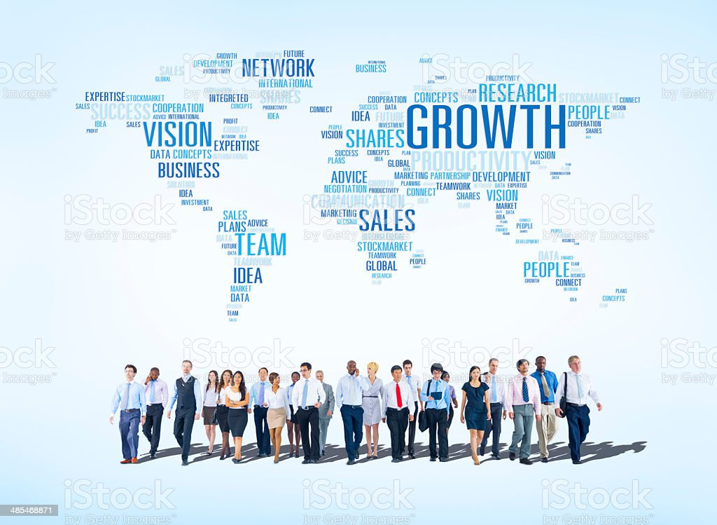 Business Concepts All Around The World stock photo