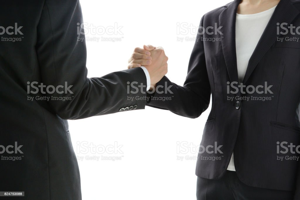 Business concepts, good relationship stock photo