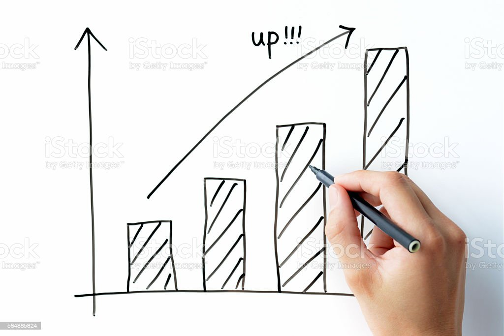 Business concepts, planning stock photo