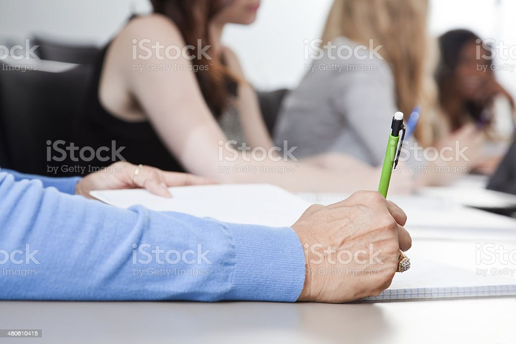 Business: Conference or Meeting stock photo