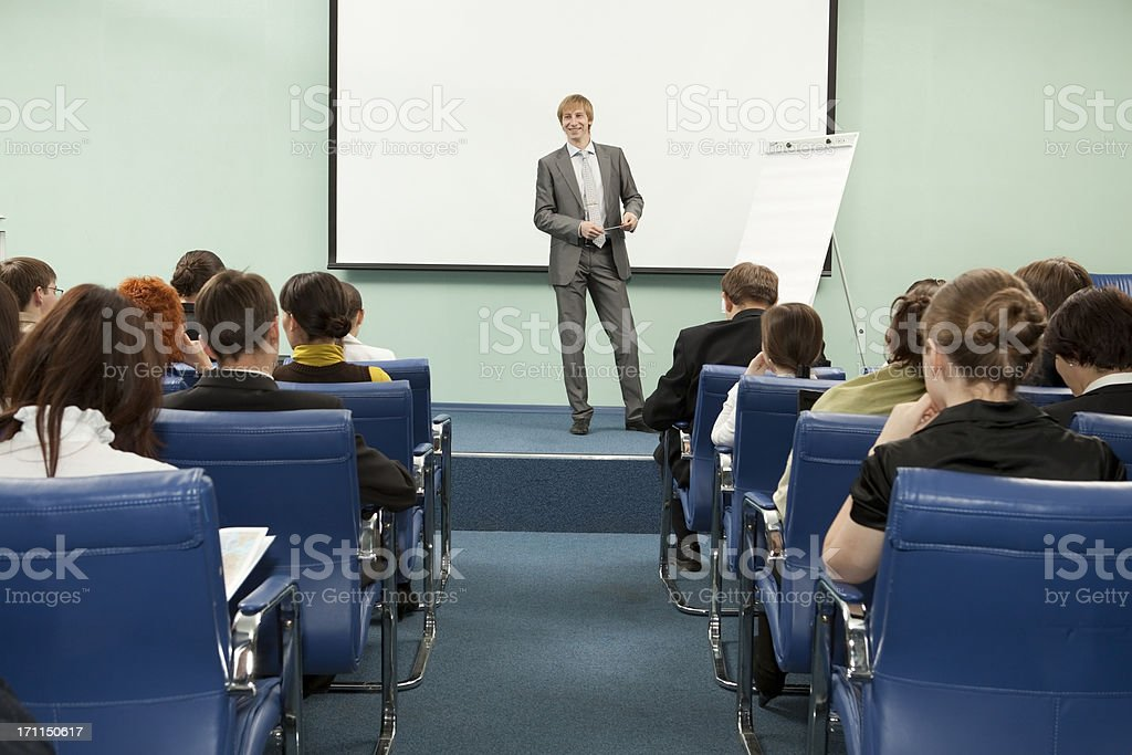 Business Conference. royalty-free stock photo