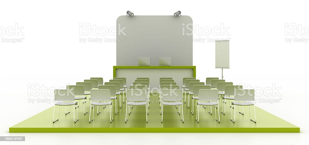 Business conference (front view) royalty-free stock photo
