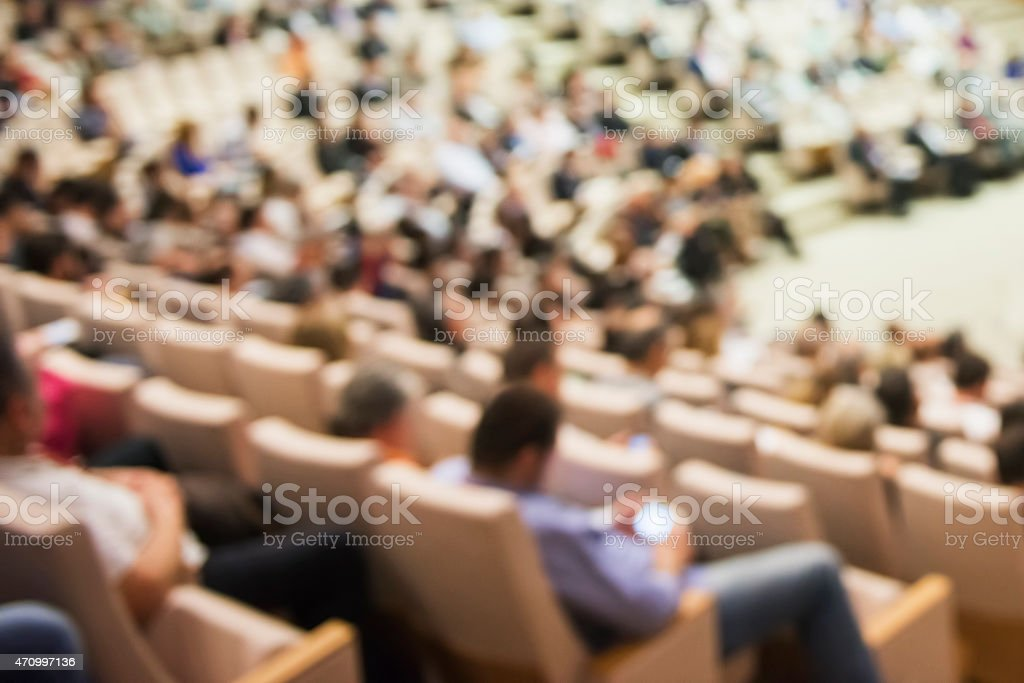 Business conference stock photo