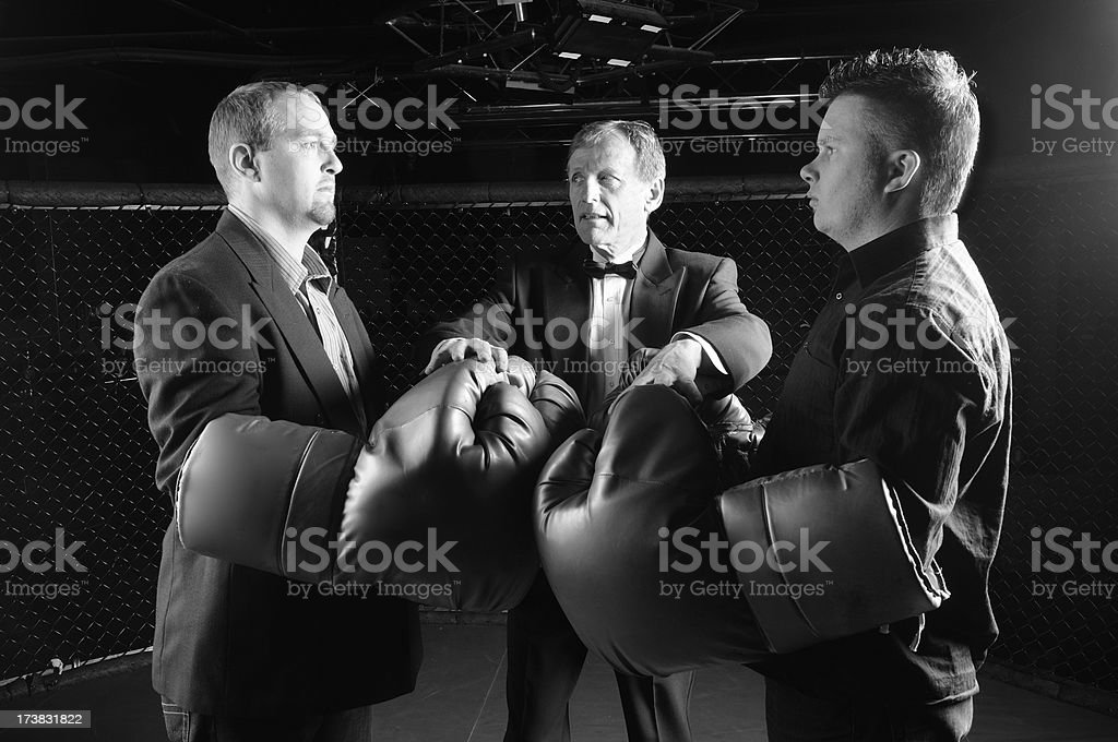 Business Conflict royalty-free stock photo