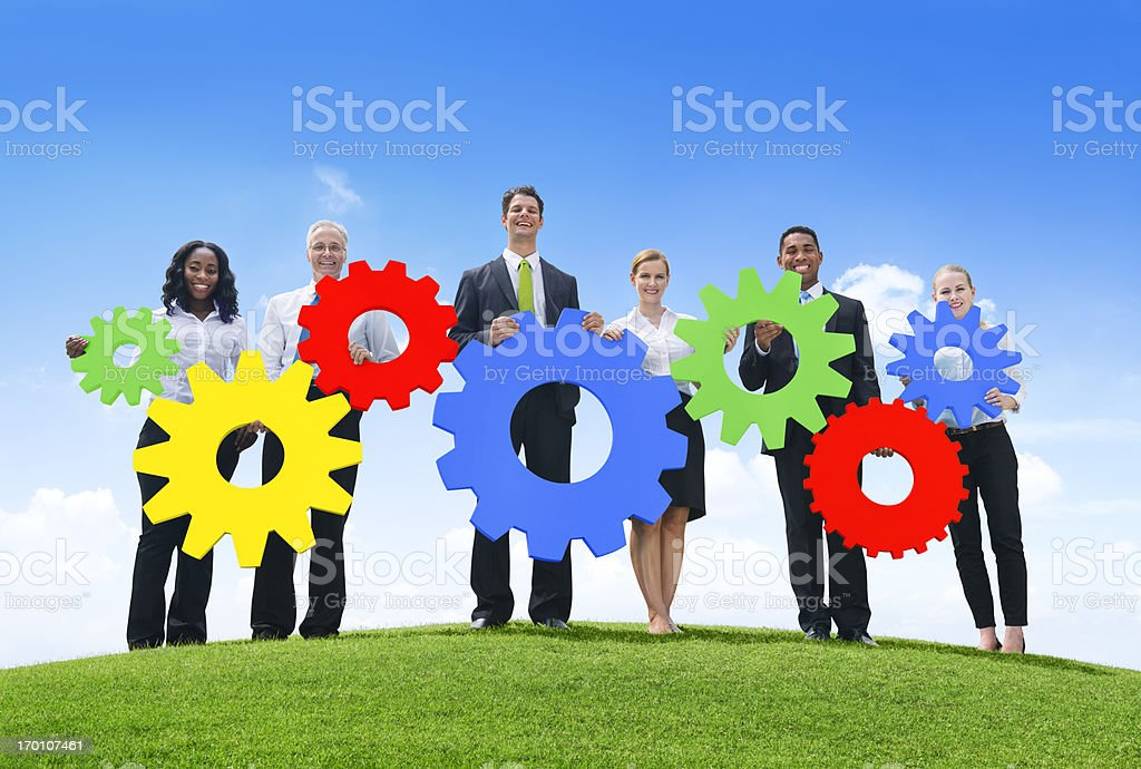 Business Connection royalty-free stock photo