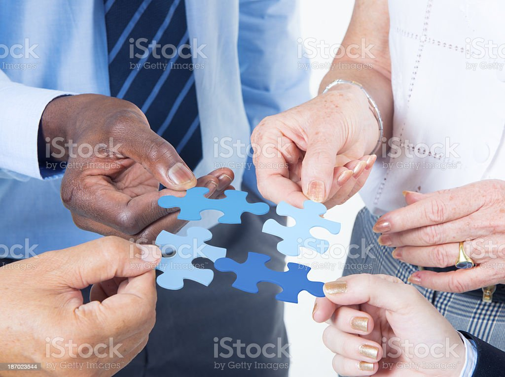 Business Connection stock photo