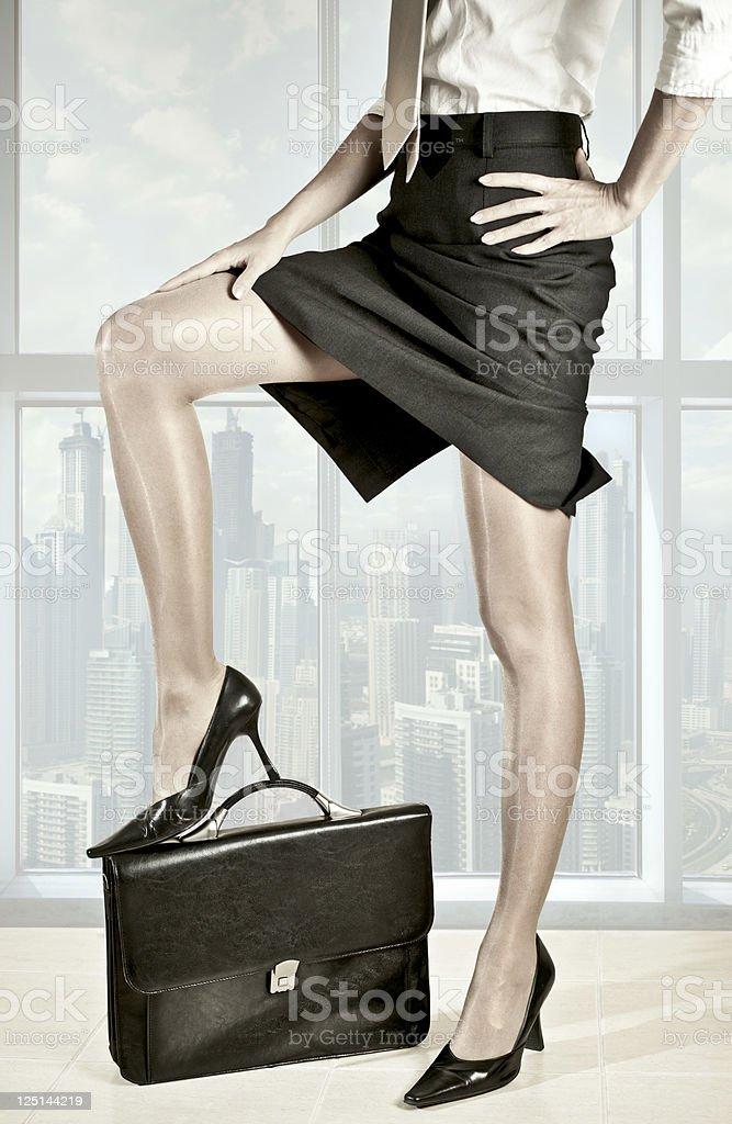 Business Conqueror stock photo