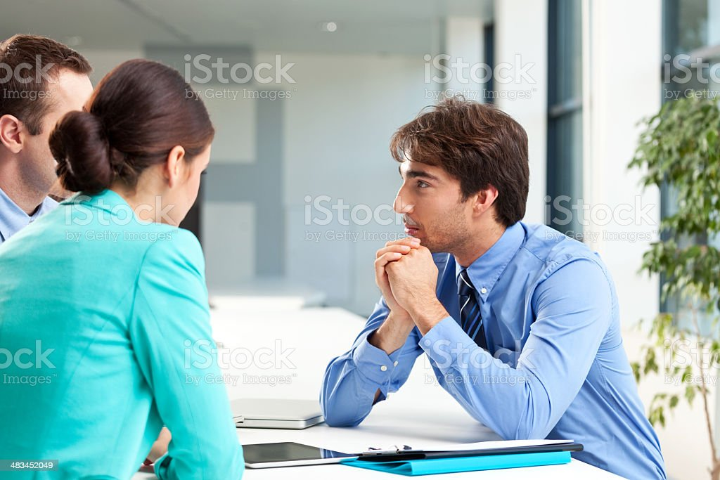 Business consulting stock photo