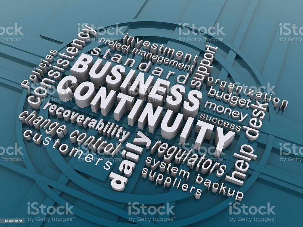 business continuity royalty-free stock photo