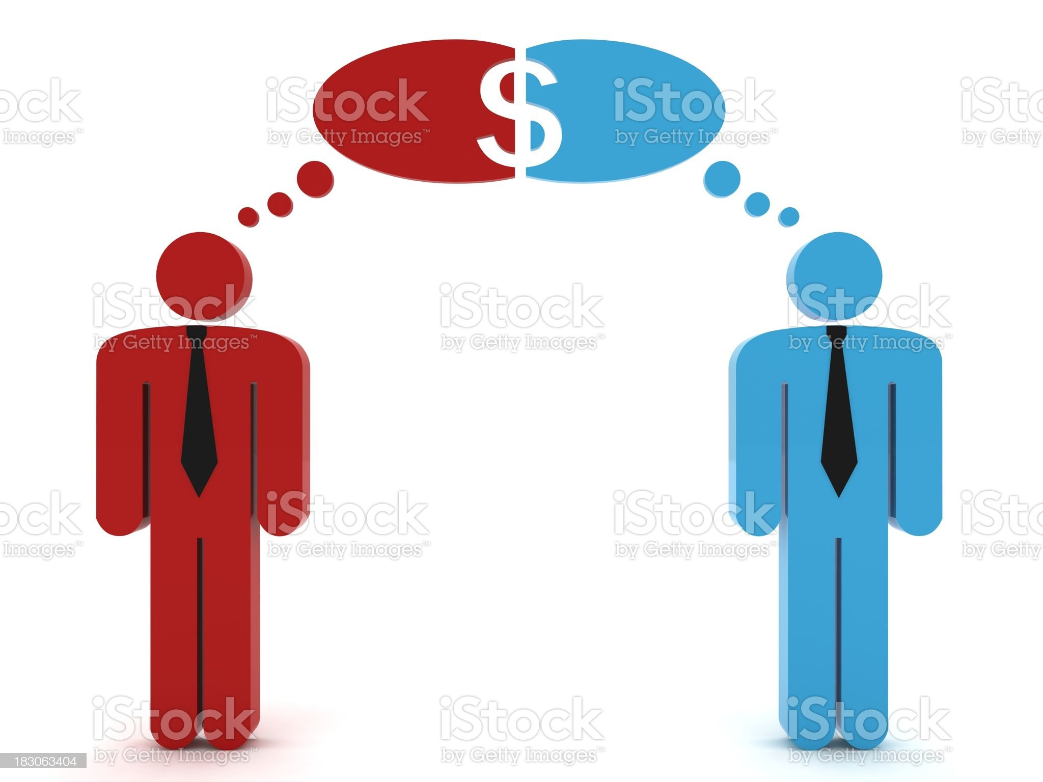 Business Cooperation royalty-free stock photo