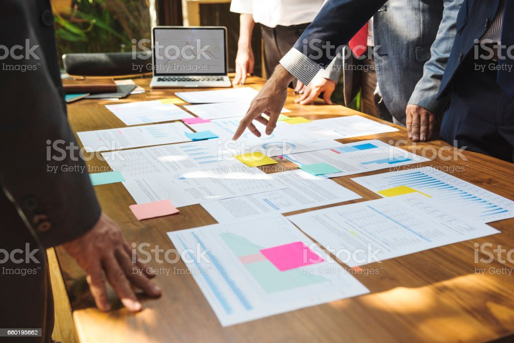 Business Corporate People Working Concept stock photo