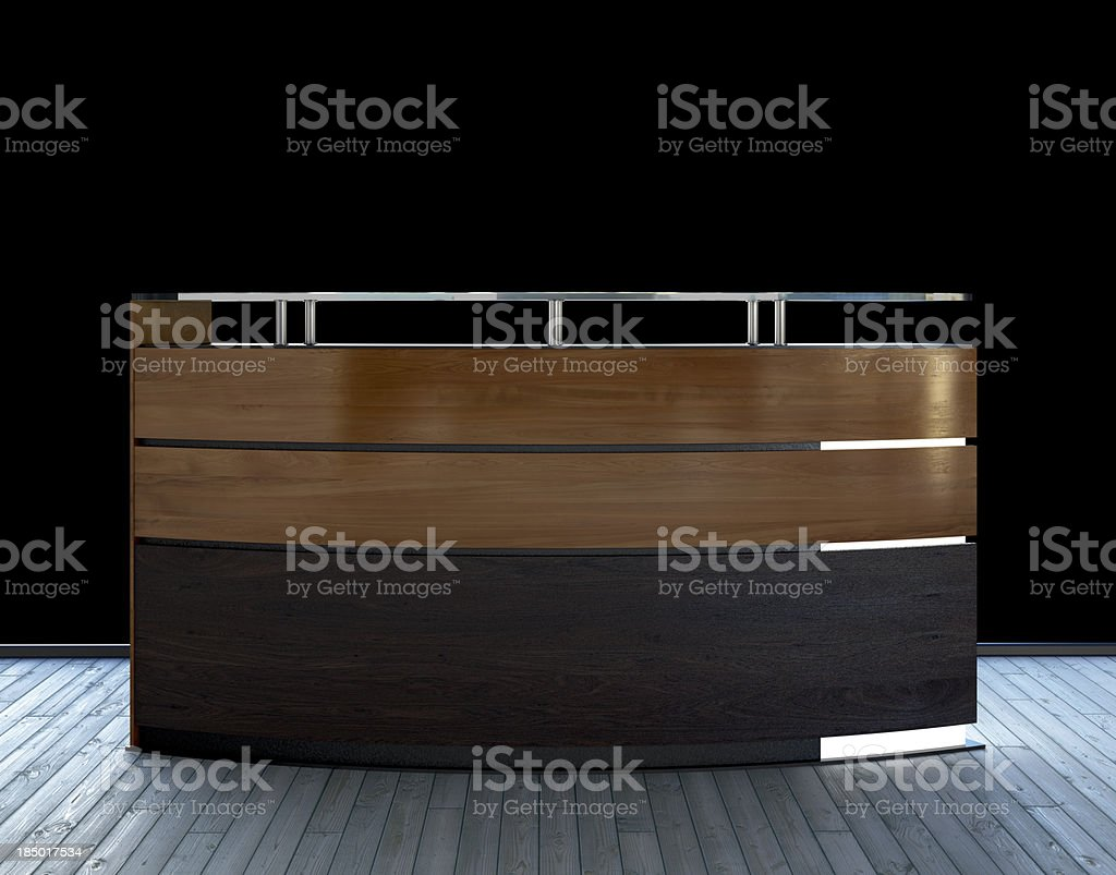 business counter royalty-free stock photo