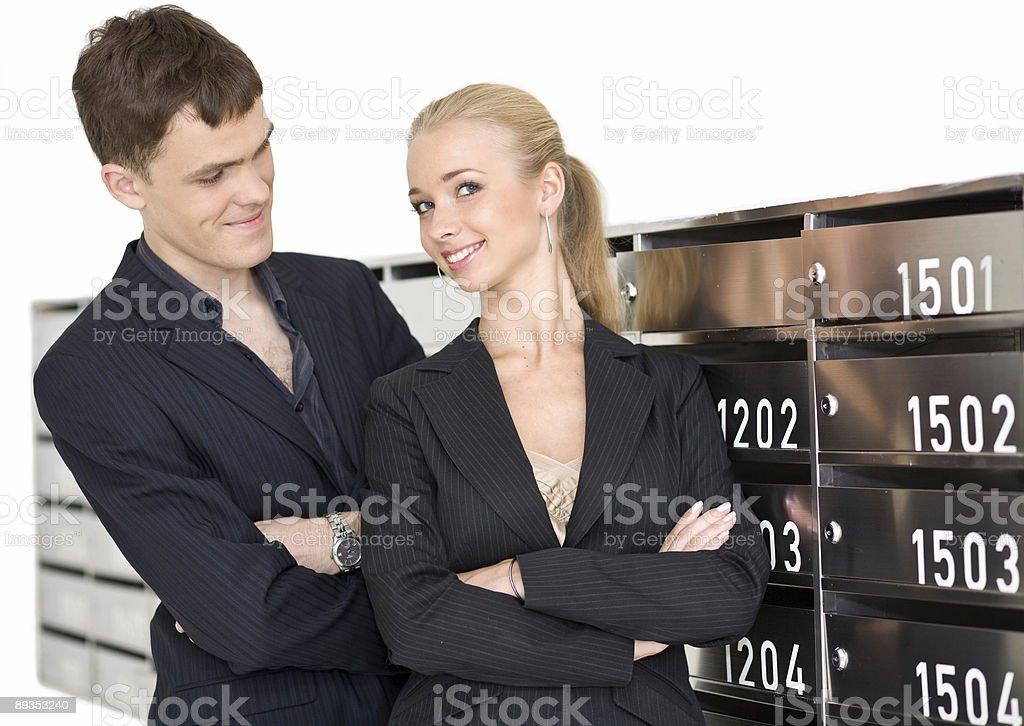 business couple 1 stock photo
