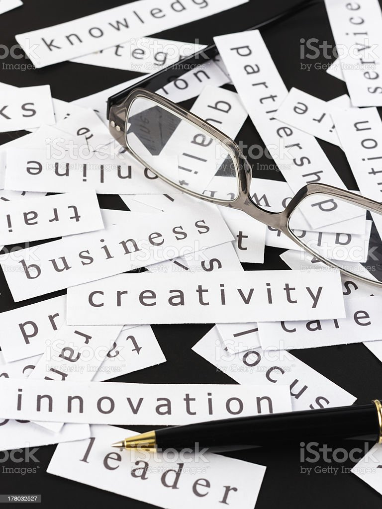 Business creativity stock photo