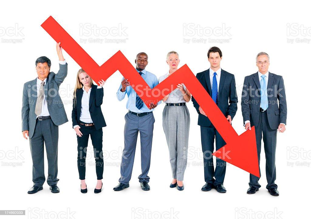 Business Crisis stock photo