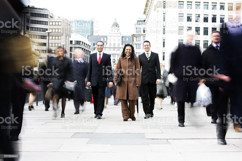 business crowd royalty-free stock photo