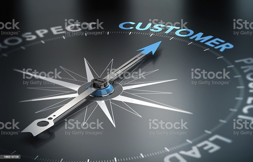 Business - Customer Concept stock photo