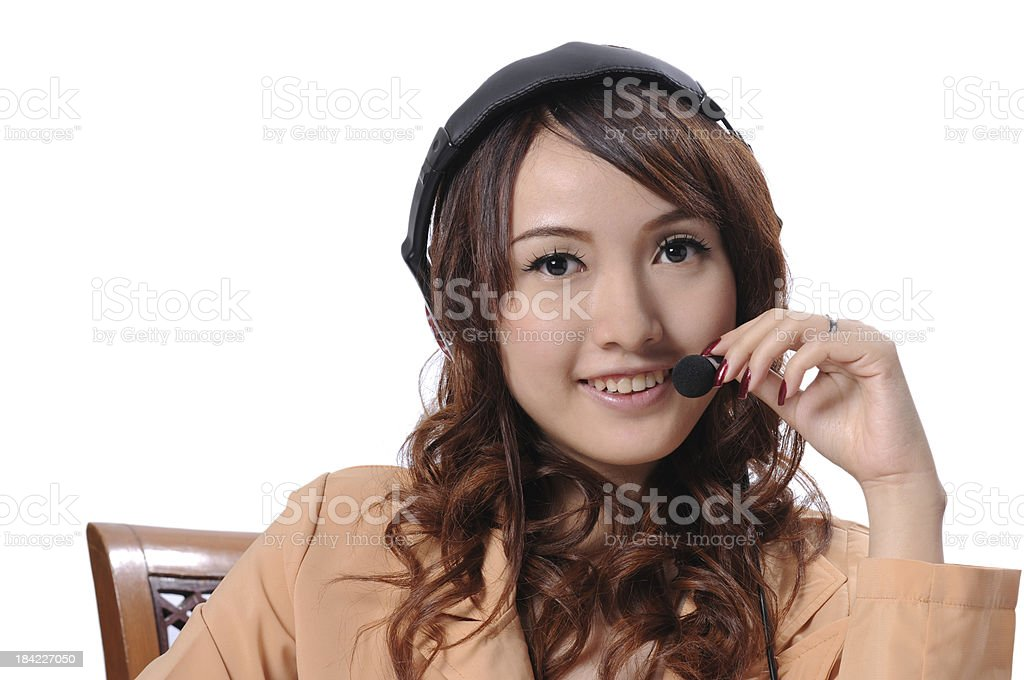 Business customer service, Call-center stock photo