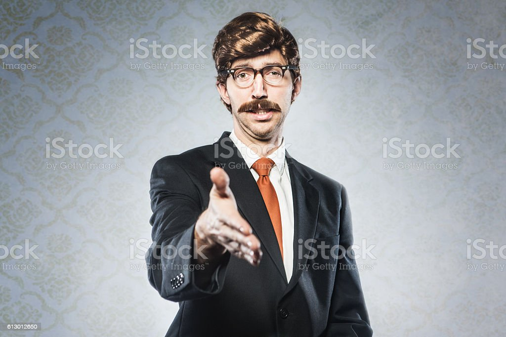 Business Deal CEO stock photo