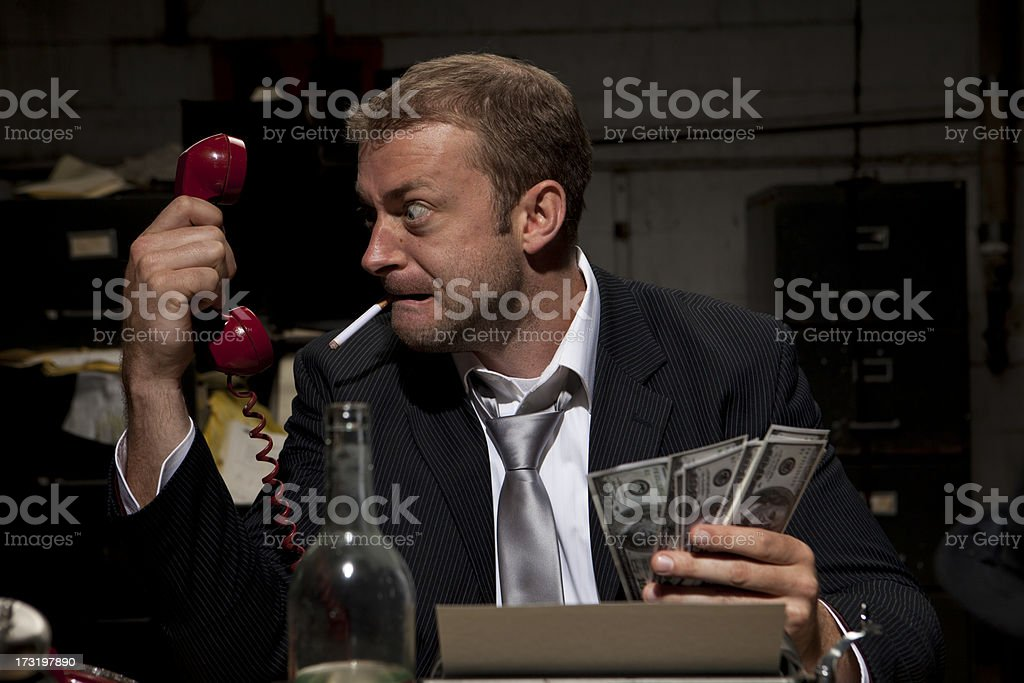 Business Deal Going Bad royalty-free stock photo