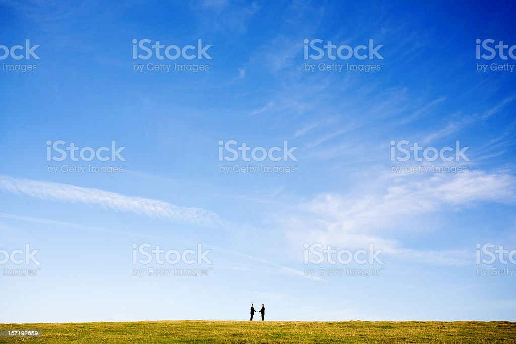 Business deal royalty-free stock photo