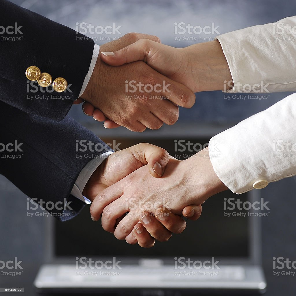 business dependence royalty-free stock photo