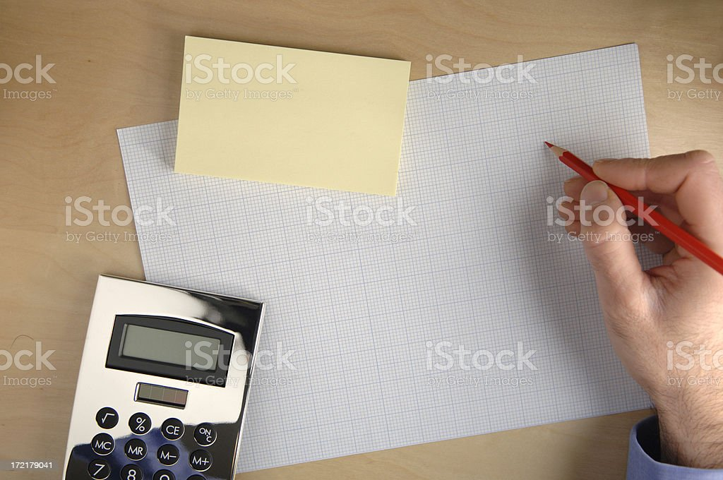 business desk add text royalty-free stock photo