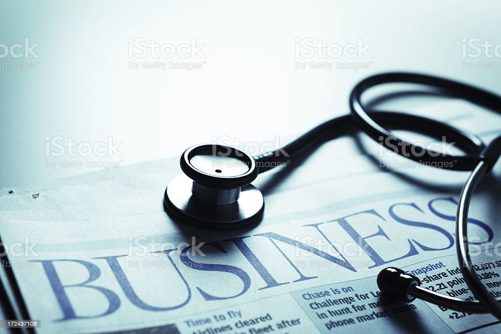 Business Diagnosis stock photo