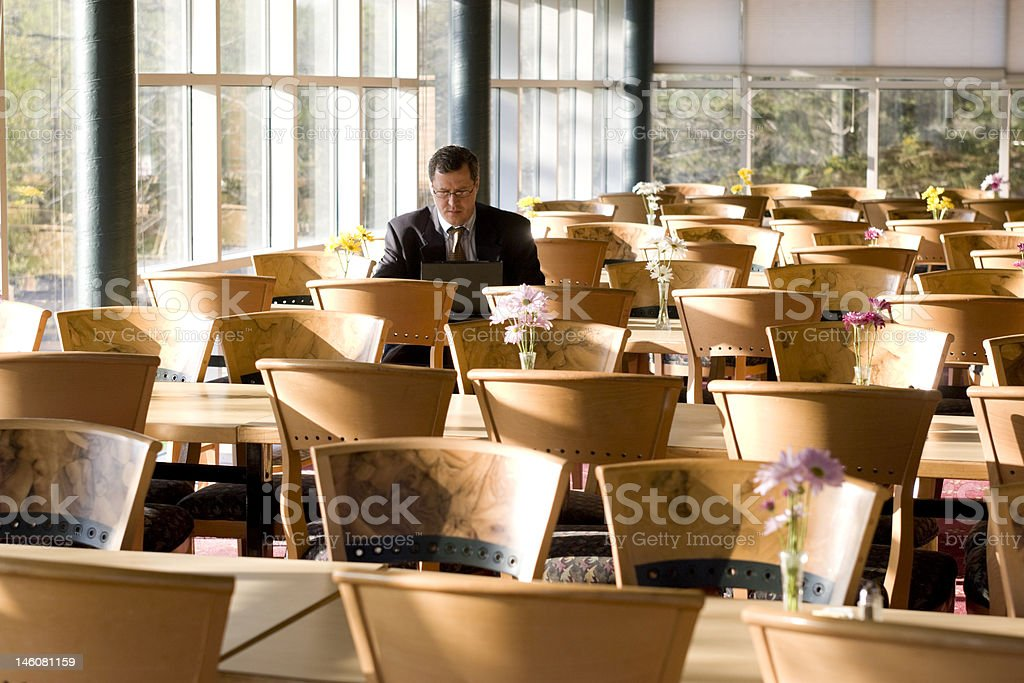 Business Dining Room royalty-free stock photo