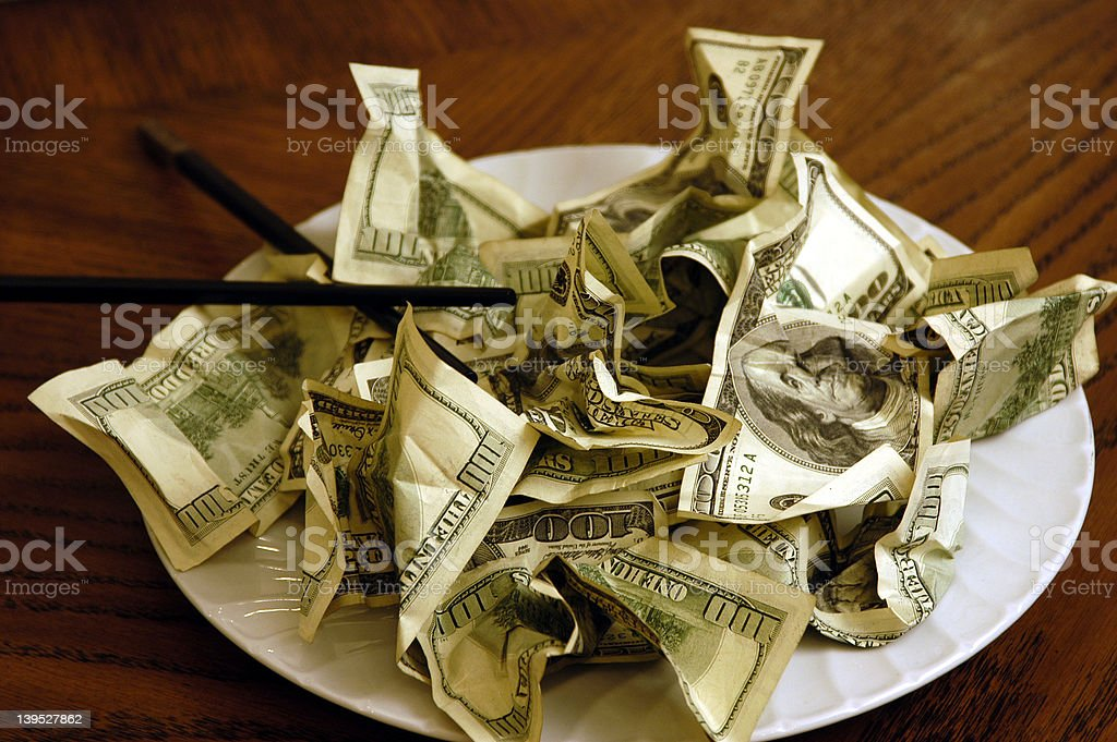 Business Dinner royalty-free stock photo
