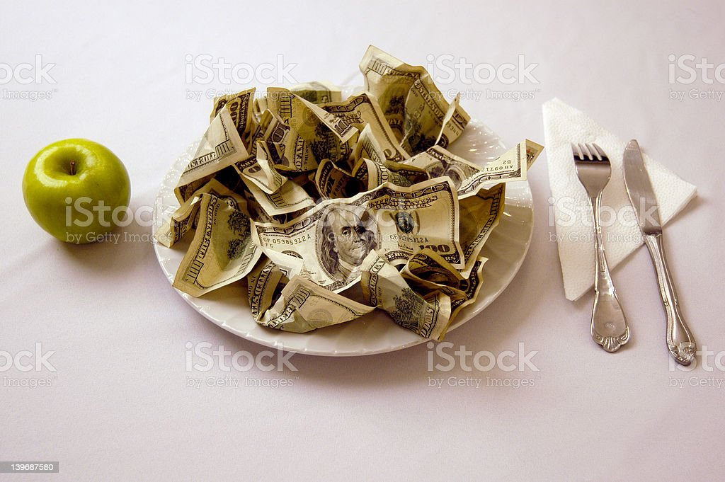 Business Dinner stock photo