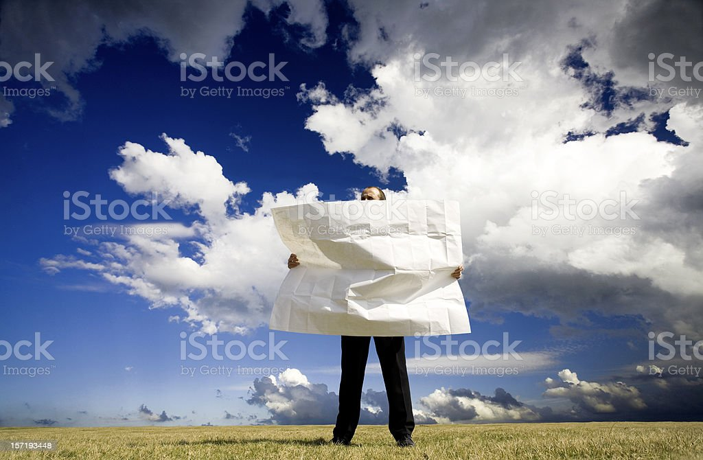 Business direction stock photo