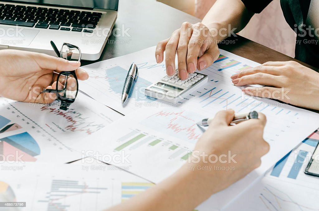 business discussion stock photo