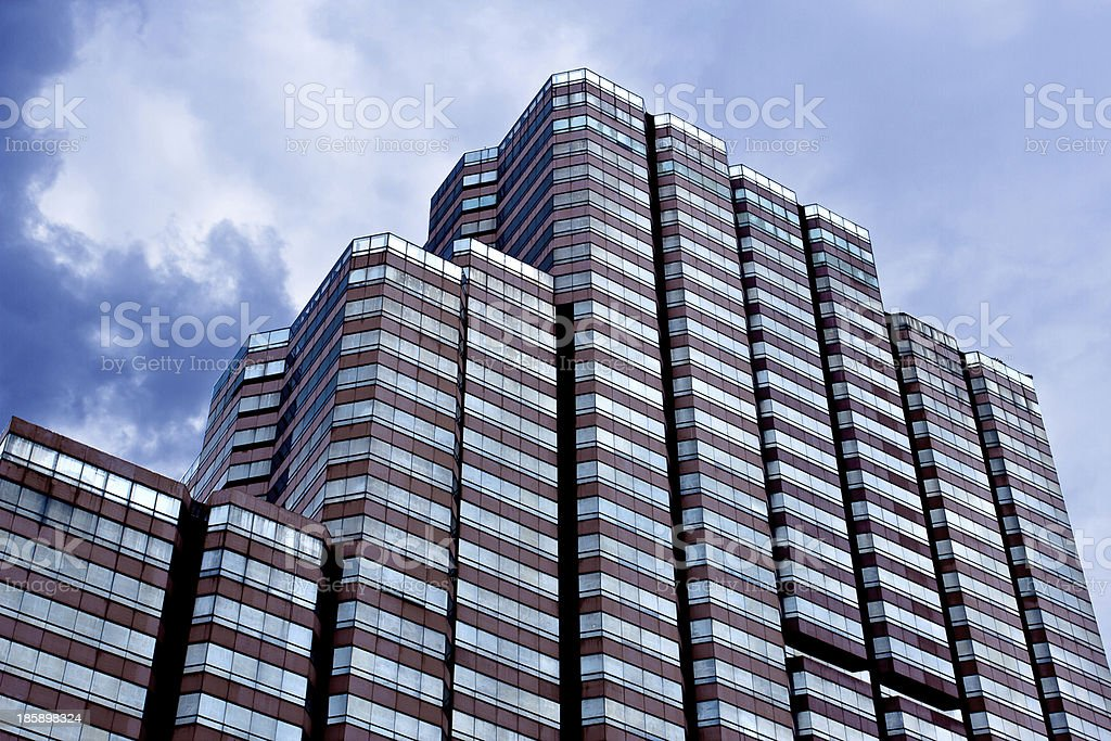 Business District, office Building stock photo