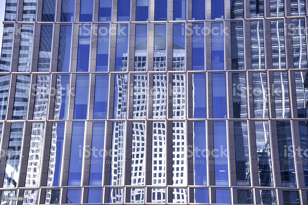 Business District royalty-free stock photo