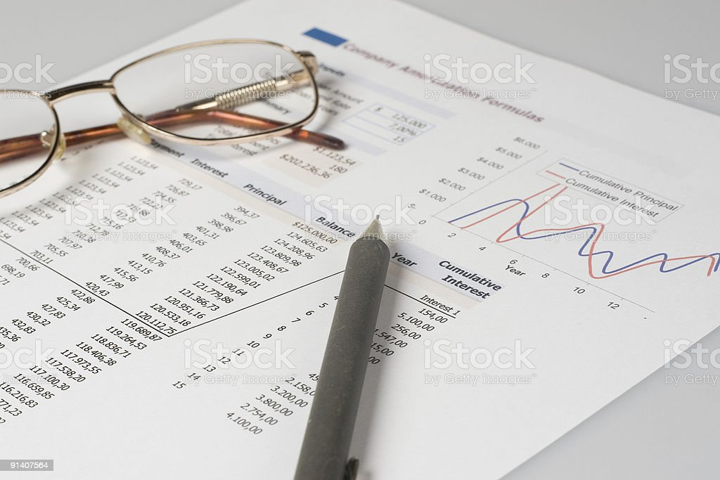 Business Document 05 royalty-free stock photo