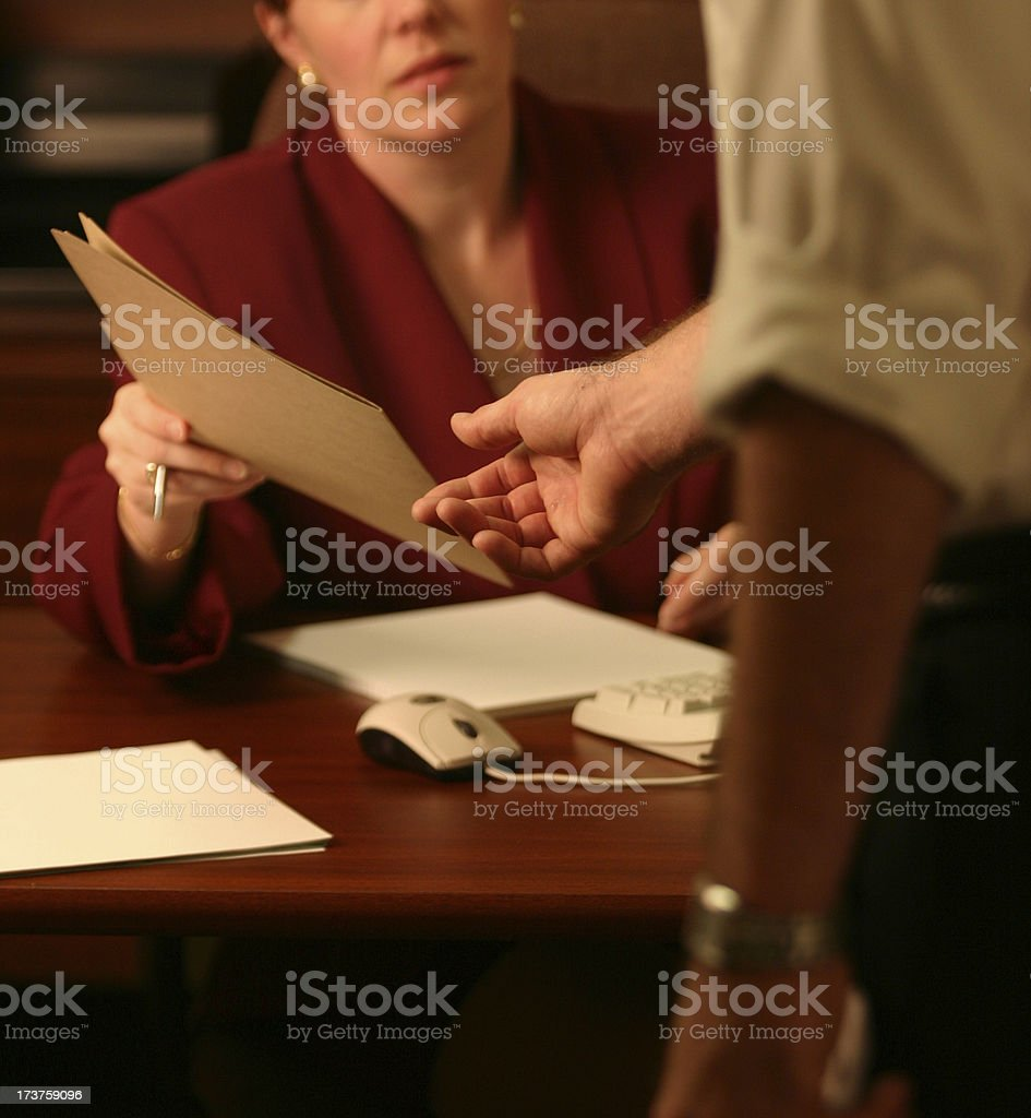 Business Documents royalty-free stock photo