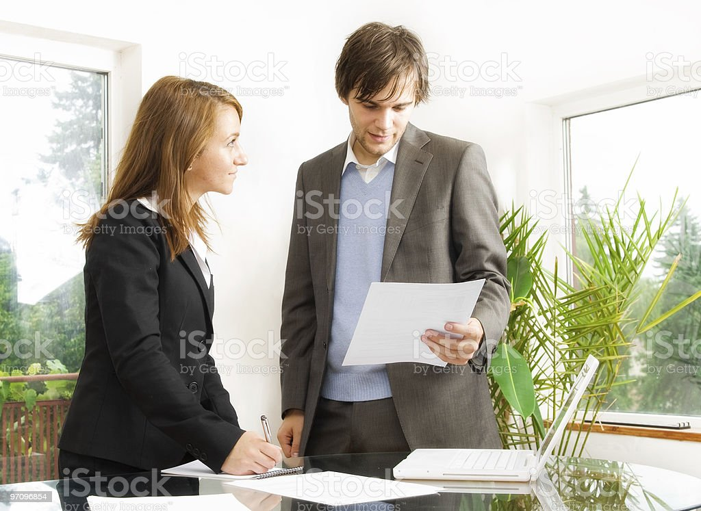 Business done on the go royalty-free stock photo