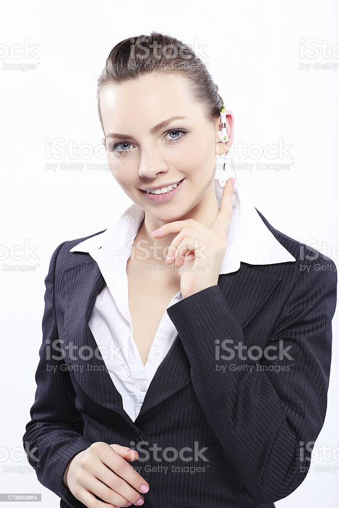 Business emotion! royalty-free stock photo