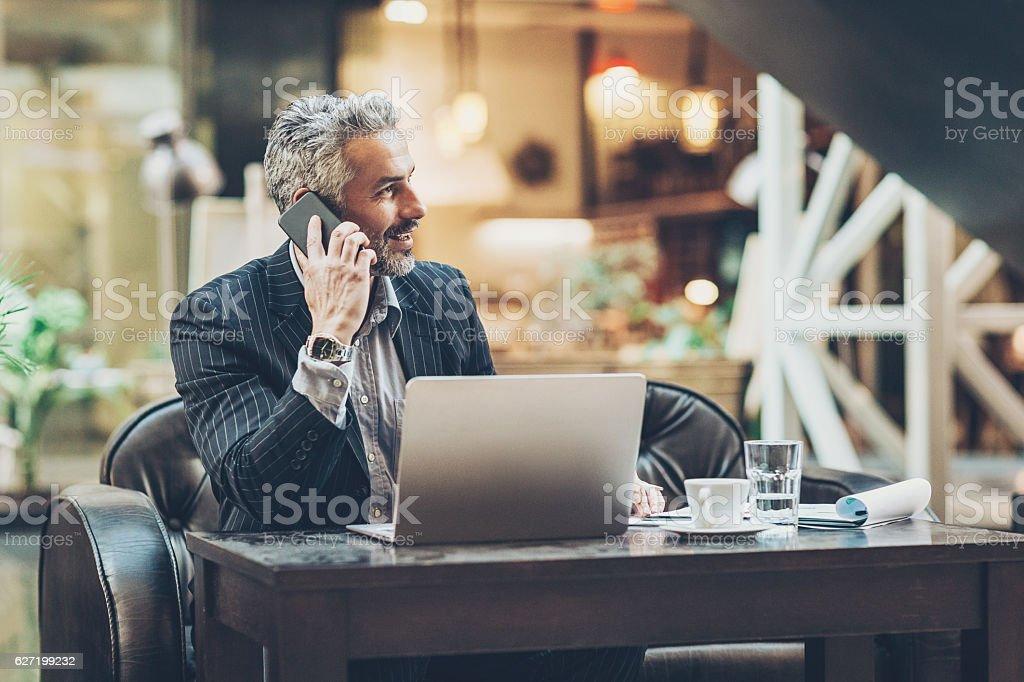 Business environment stock photo