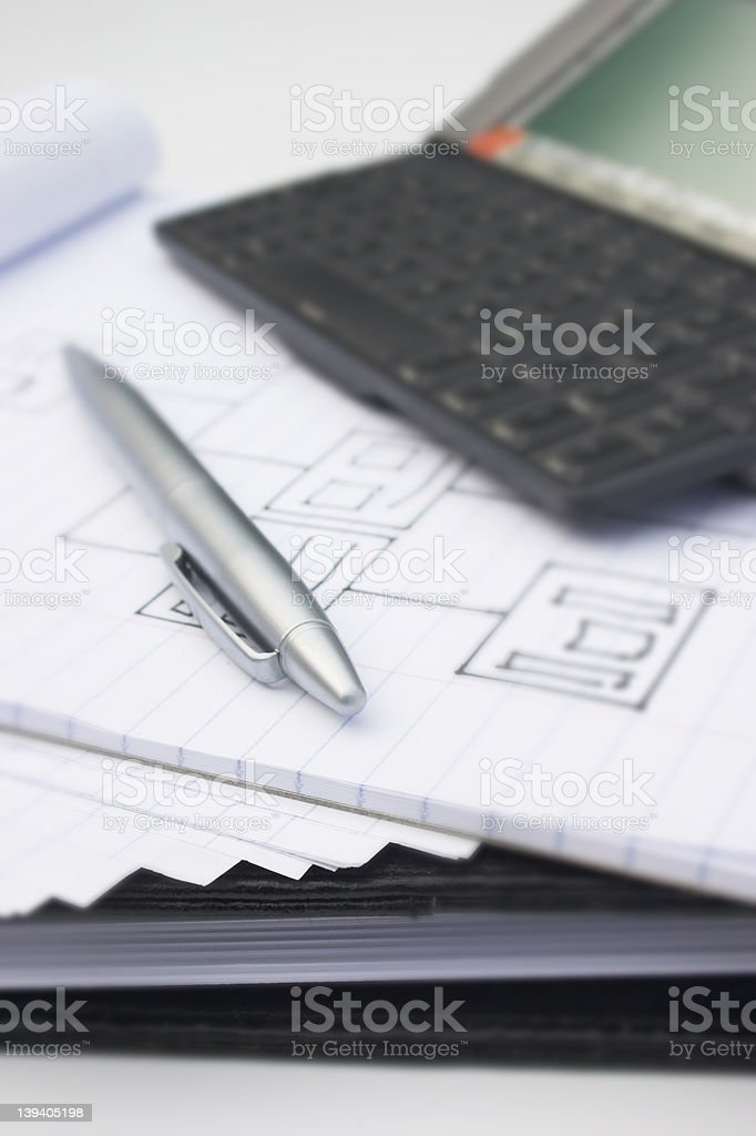 Business essentials royalty-free stock photo