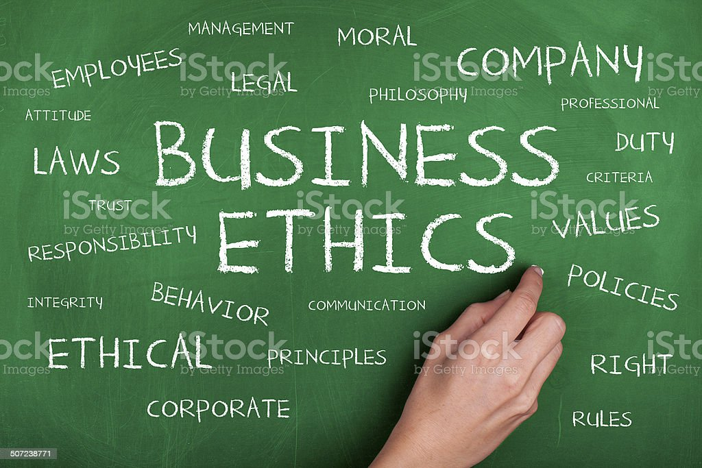 Business Ethics stock photo