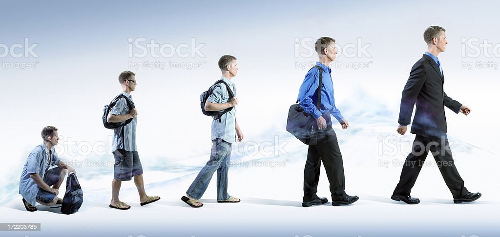 Business Evolution stock photo