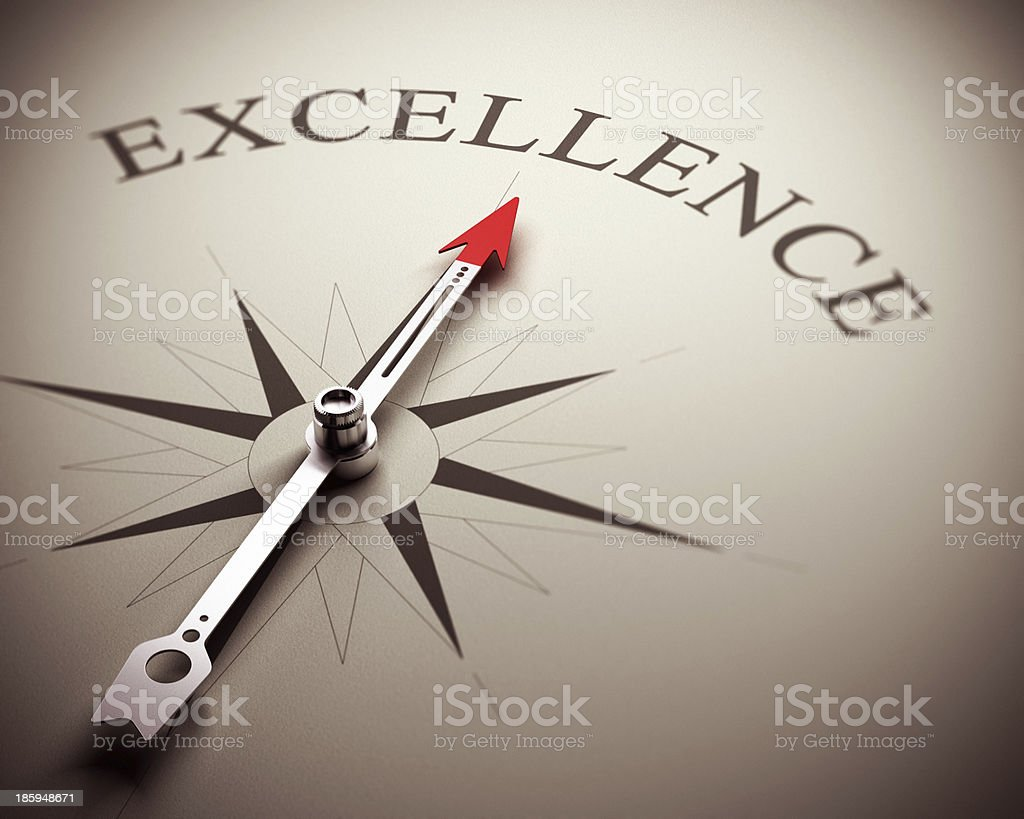 Business Excellence Concept stock photo