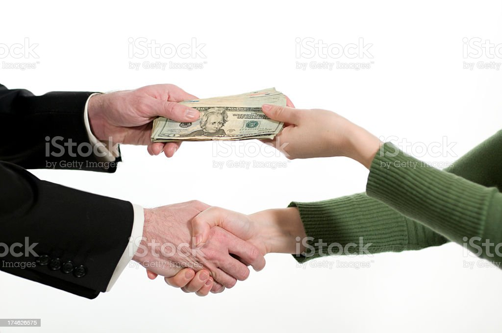 business exchange royalty-free stock photo