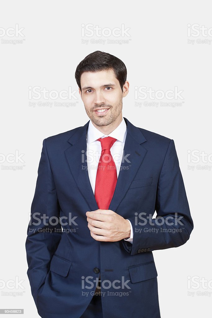 business executive in suit stock photo