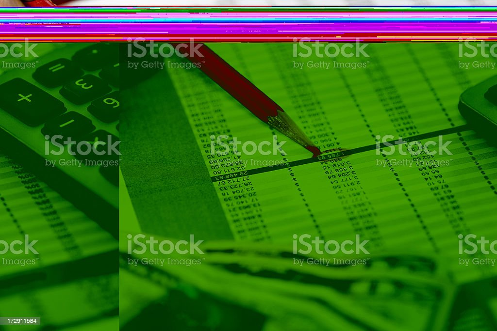 business expenses background royalty-free stock photo